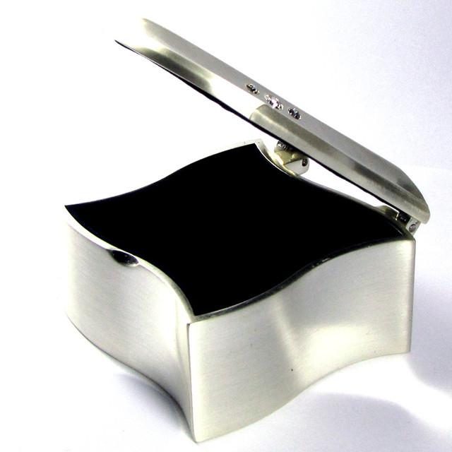 SQUARE JEWELRY TRINKET BOX  GRR 603