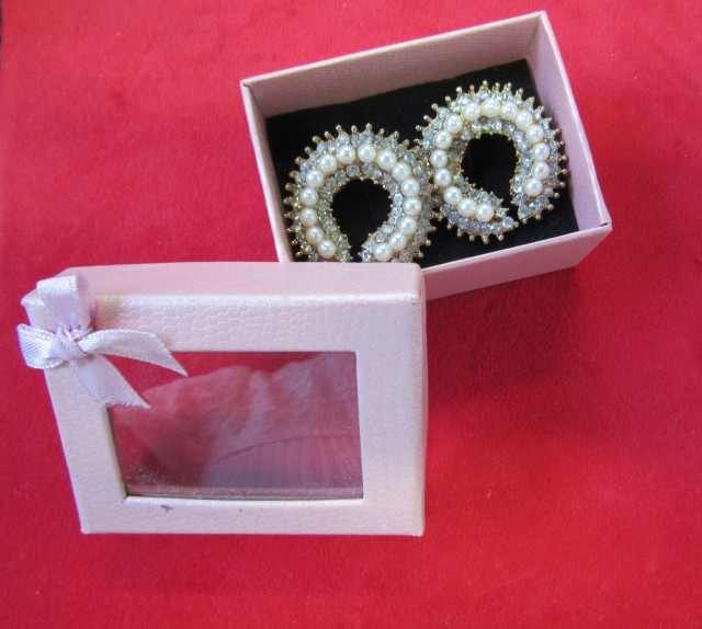 HAND MAN GIFT BOX EARRINGS AGR 700