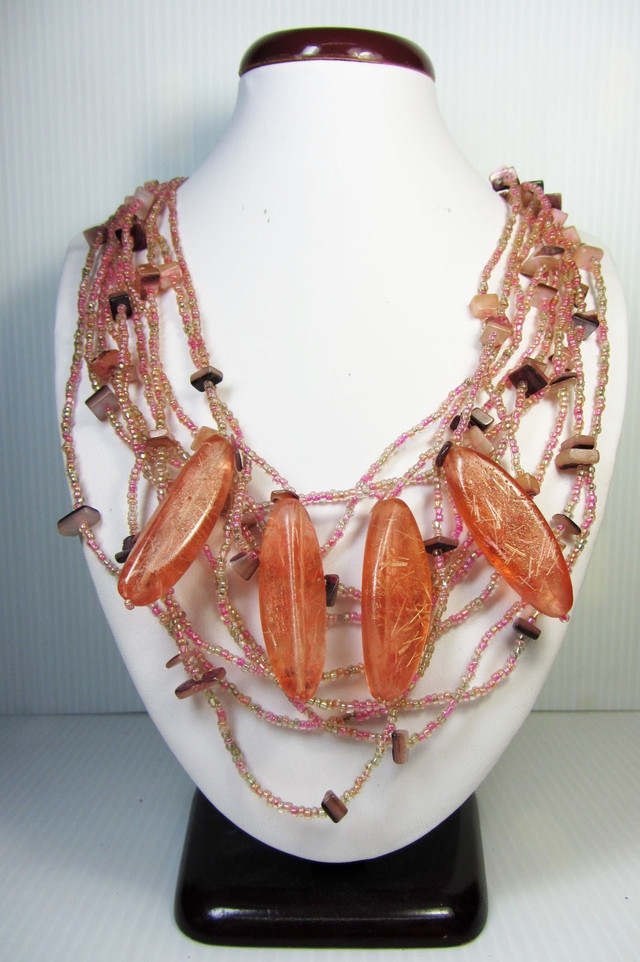 FASHION PEARL SHELL   STYLE  NECKLACE    QT191