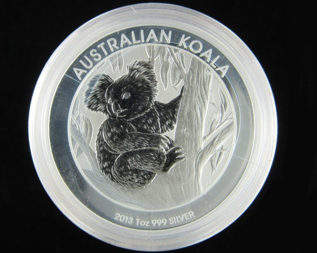 2013 KOALA One Ounce 99.9% Pure Silver Coin perth mint-No Buyers Premium