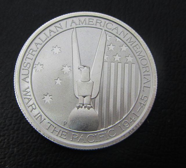 ONE Perth Mint 1/2 silver oz Alliance memorial coin