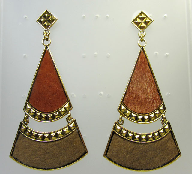 LARGE EARTHLY EARRINGS QT 360