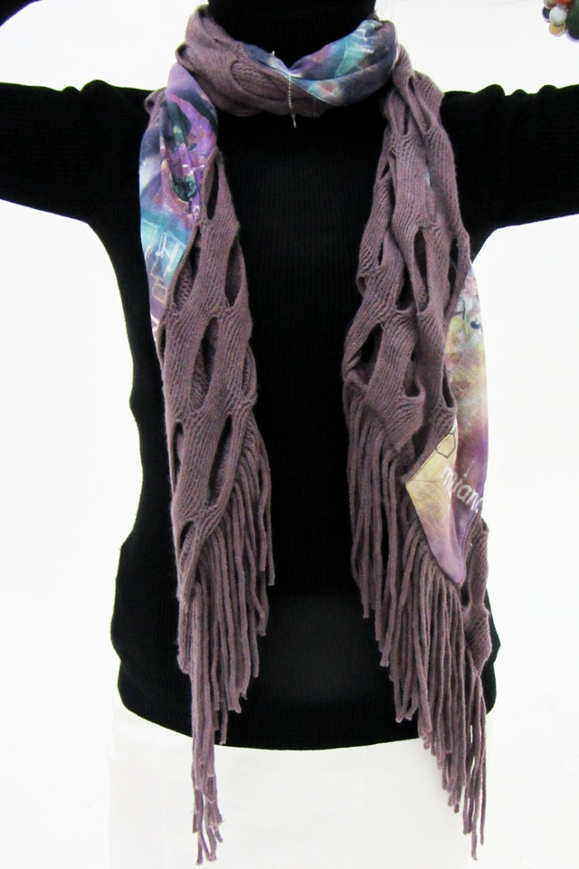 LONG ONE METER COUNTRY STYLE SCARF   QT 489