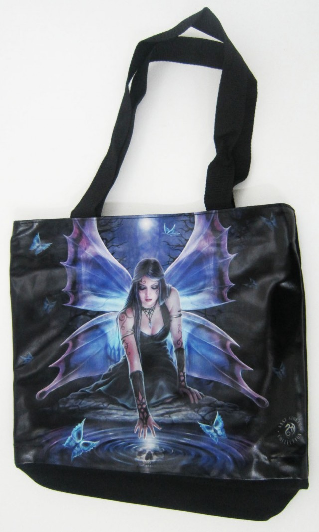 IMMORTAL FLIGHT TOTE BAG BY ANNE STOKES QT 551