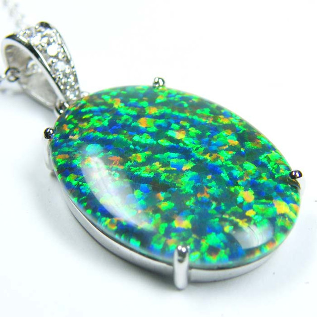 FASHION OPAL PENDANT CJ 1623
