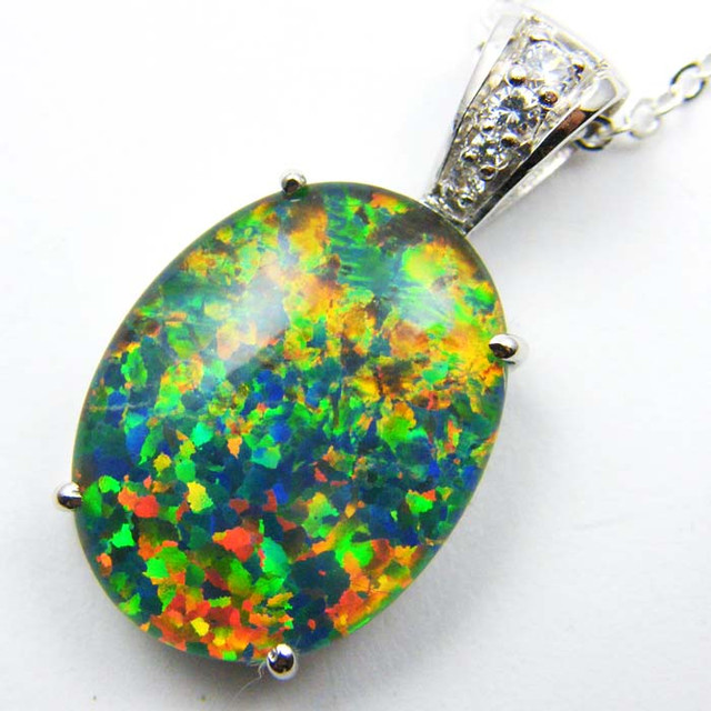FASHION OPAL PENDANT CJ 1630