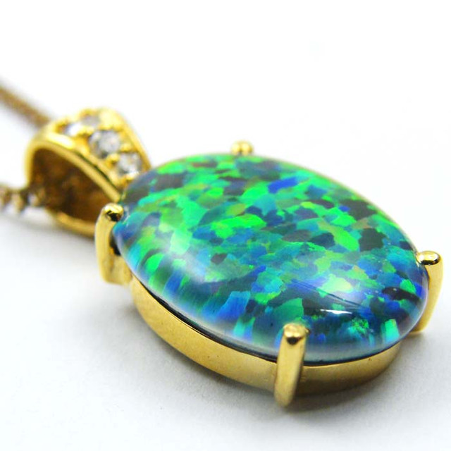 FASHION OPAL PENDANT CJ 1637