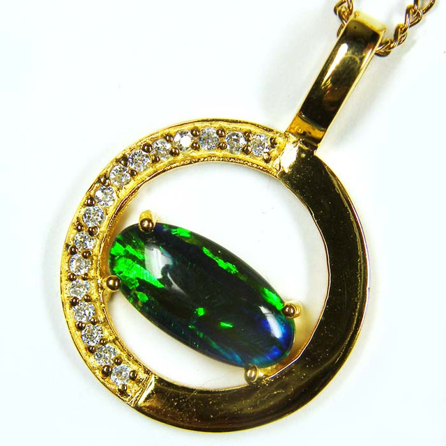 FASHION OPAL PENDANT CJ 1646