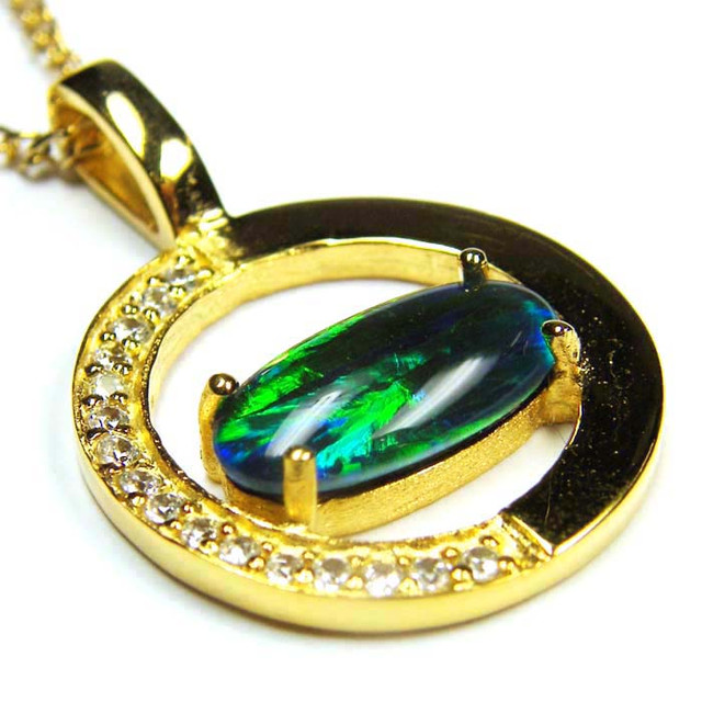 FASHION OPAL PENDANT CJ 1647