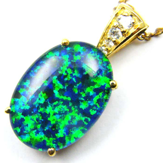 FASHION OPAL PENDANT CJ 1652