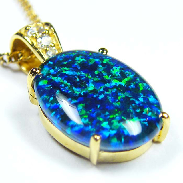 FASHION OPAL PENDANT CJ 1653