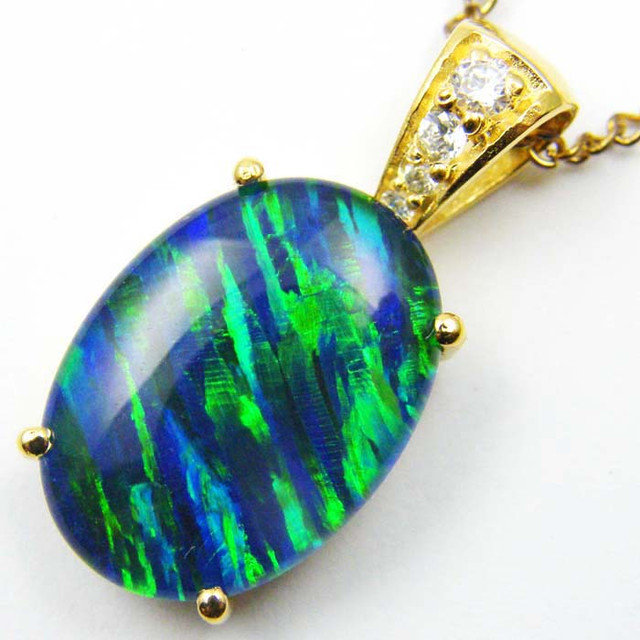 FASHION OPAL PENDANT CJ 1656