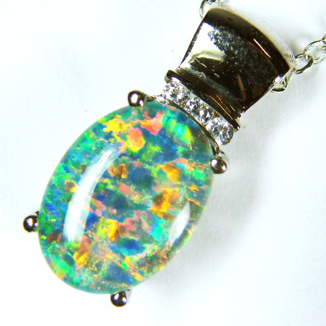 FASHION OPAL PENDANT ML527