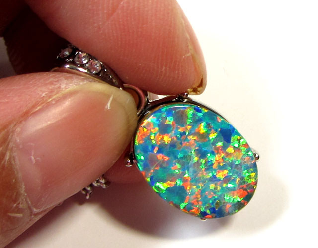 ATTRACTIVE OPAL PENDANT CSS 109