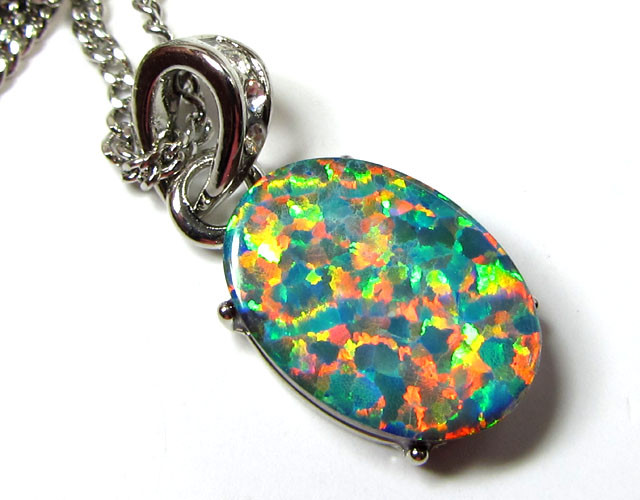 ATTRACTIVE OPAL PENDANT CSS 111