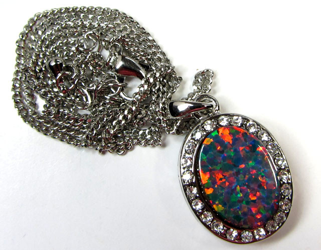 ATTRACTIVE OPAL PENDANT CSS 113
