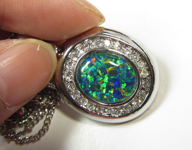 ATTRACTIVE OPAL PENDANT CSS 120