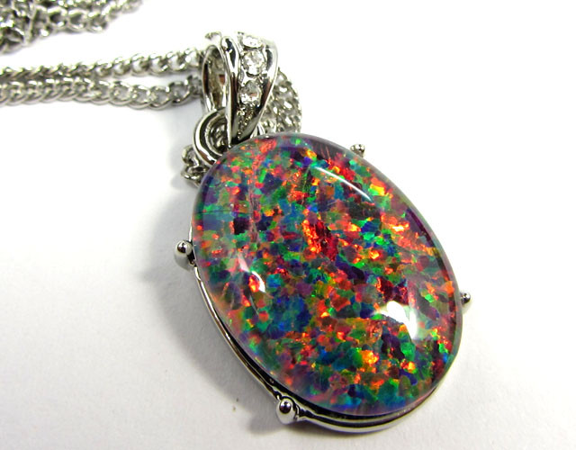 ATTRACTIVE OPAL  FASHION PENDANT CSS 177