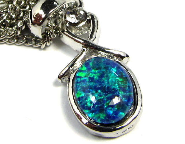 ATTRACTIVE OPAL  FASHION PENDANT CSS 174