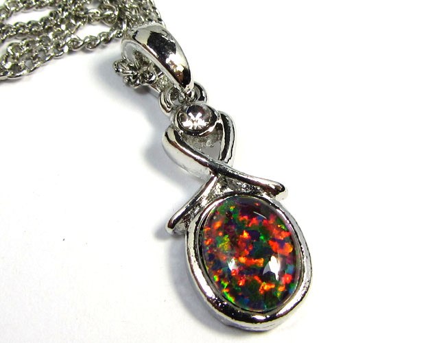 ATTRACTIVE OPAL  FASHION PENDANT CSS 185