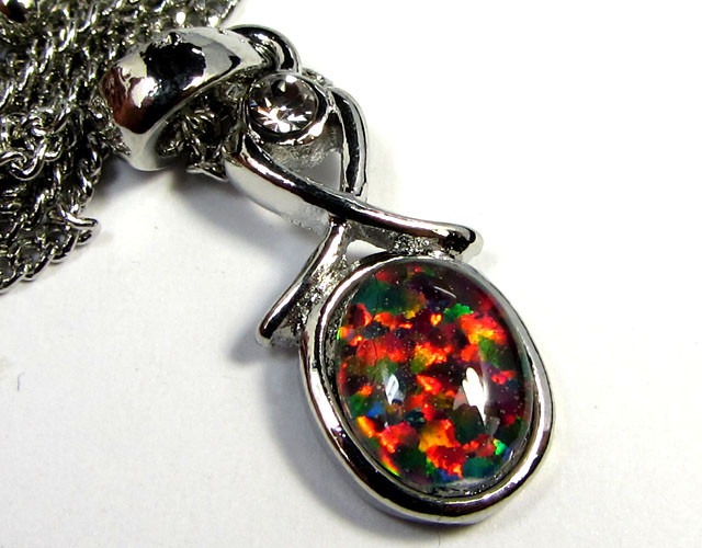 ATTRACTIVE OPAL  FASHION PENDANT CSS 186