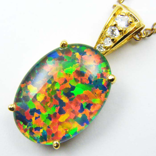 FASHION OPAL PENDANT  MYJA 957