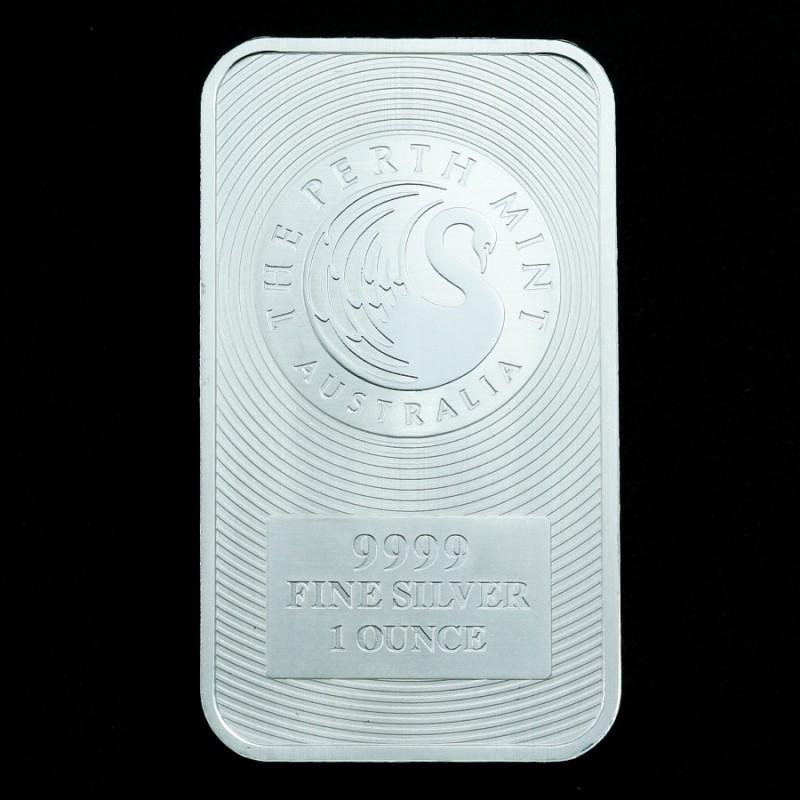 Pure Silver .9999  Perth Mint Kangaroo Bar