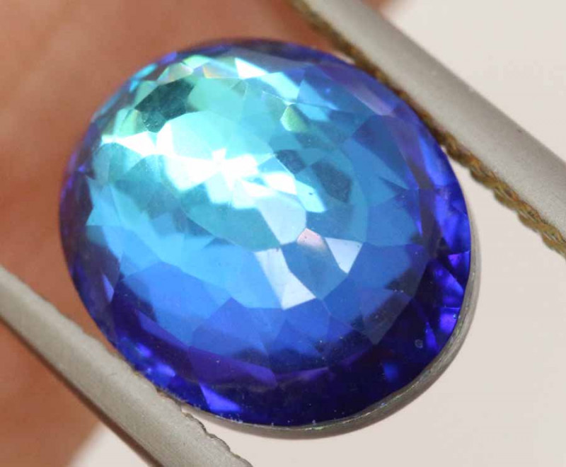 3.65CTS - TOPAZ  DOUBLED FACETED  RJA-958