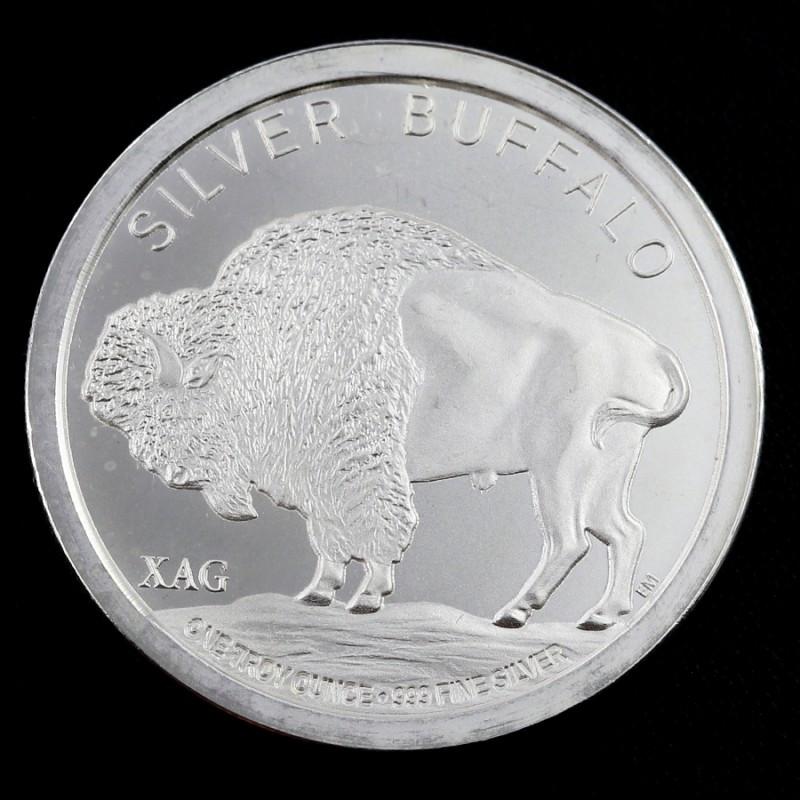 1 oz .999 Pure silver coin - 2015 XAG Buffalo