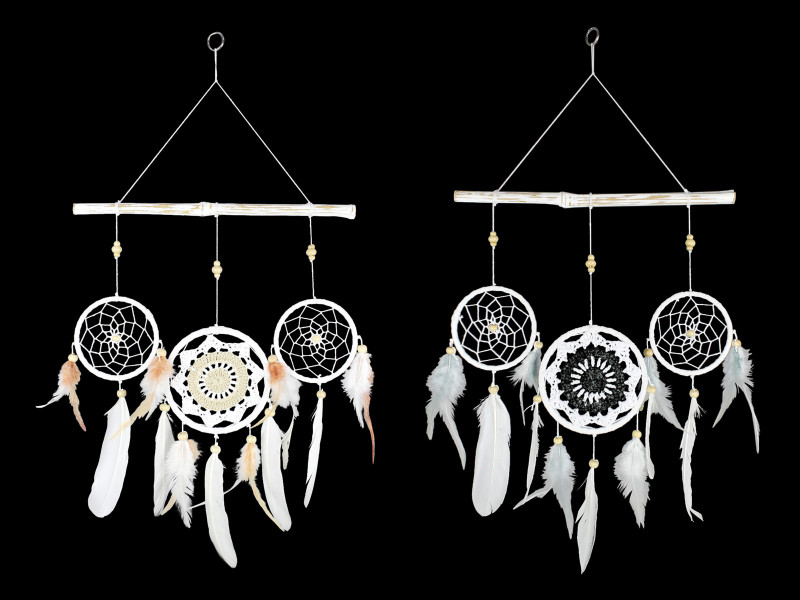 Treasures Box of Two  Boho/Mandala Dreamcatcher Wall Hanger code  DREATRIDR