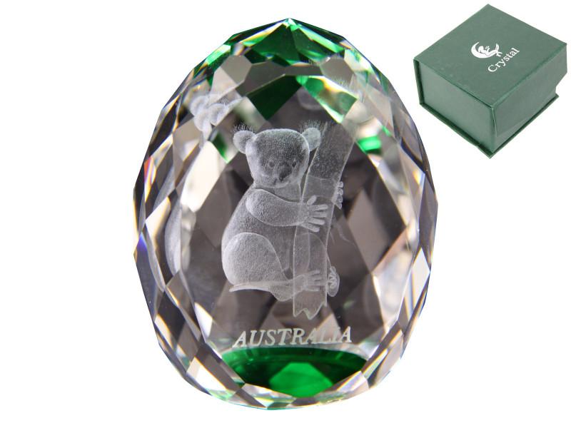 Treasures  Koala  Bear Crystal Paperweight code  KOACRYPW