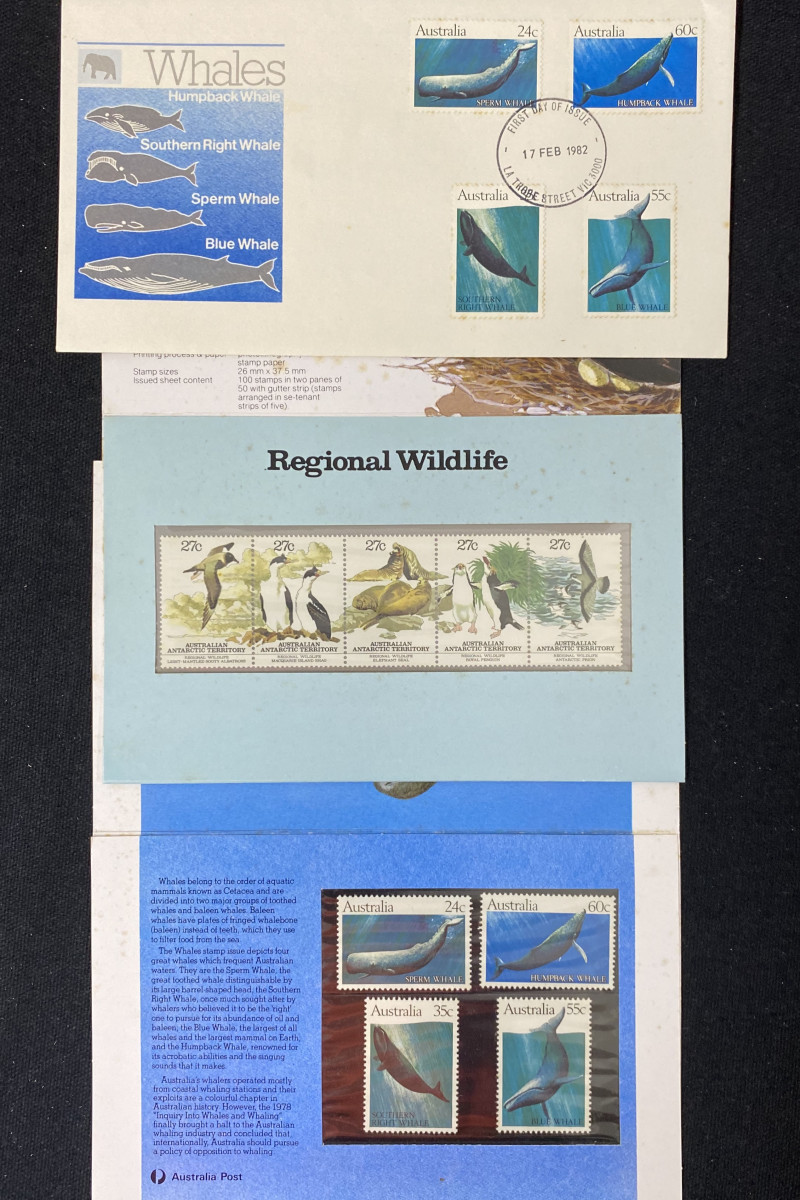Australian Stamps  Whales  ode  CCC 169