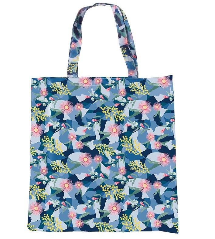 Treasure #4 Foldable Shopper Botanical  code 15172