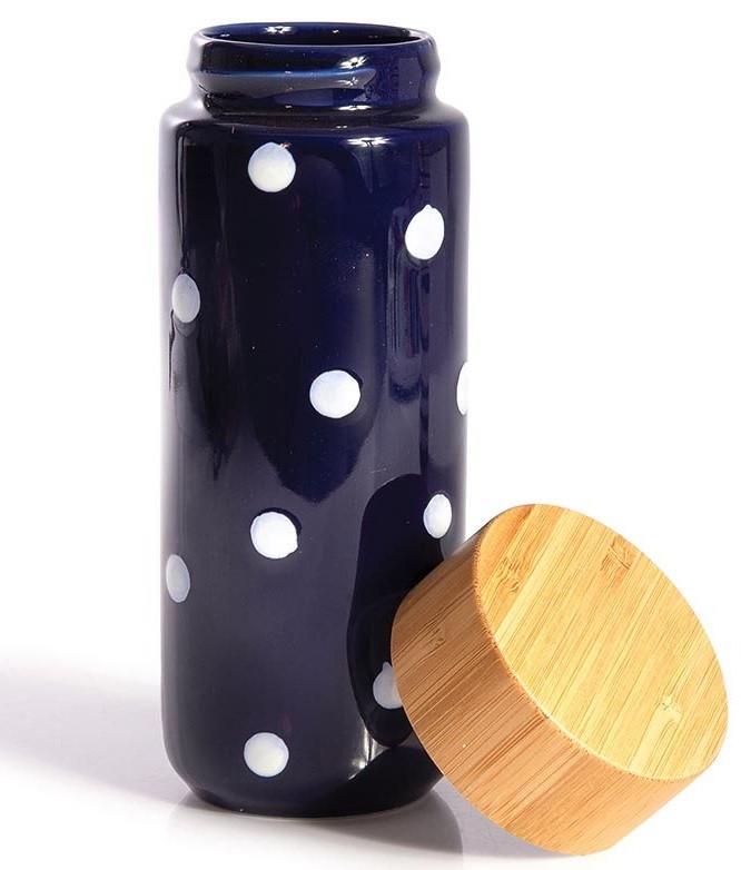 Dot Eco Bottle Double Walled Ceramic code 12006