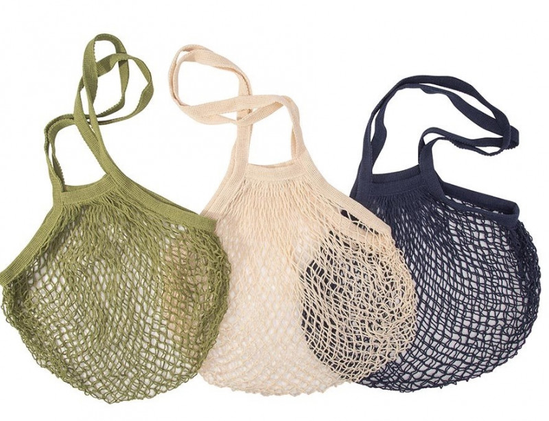 Pack of 3 Cotton String Shopping Bag code 35395