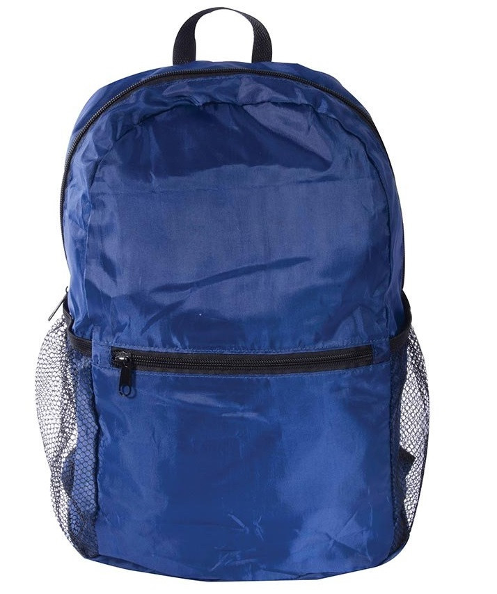 Navy B;le  Port-A-Pack Foldable Backpack      code 35400