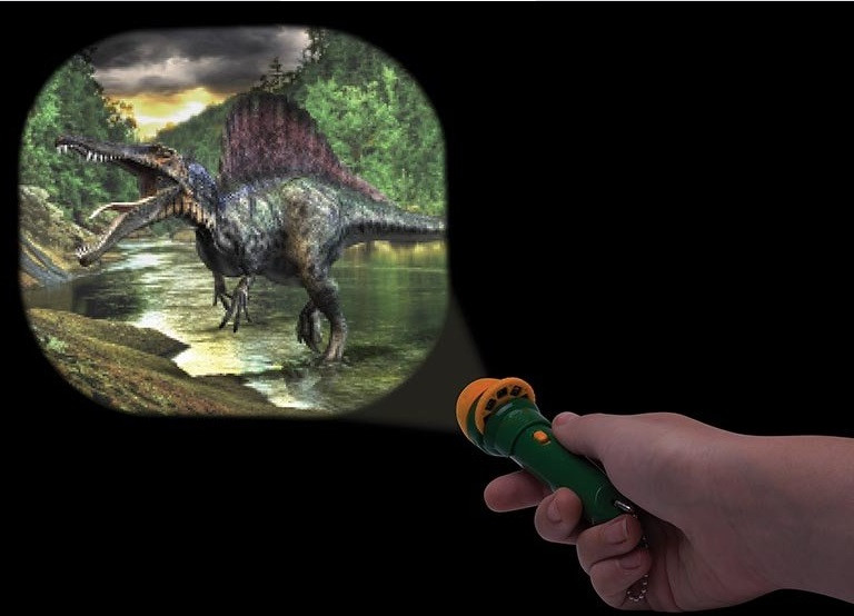 Shine Torch Projector Dinosaurs       code 78008