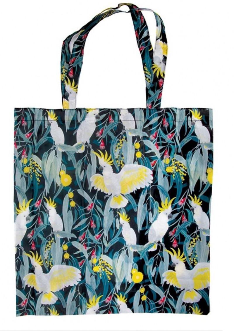 Cockatoo Foldable Shopper Birds  code 15177