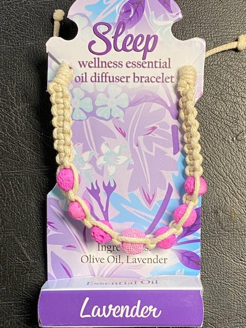 Lavander Wellness Oil Diffuser Lava stone  Bracelet  code WELLOIL