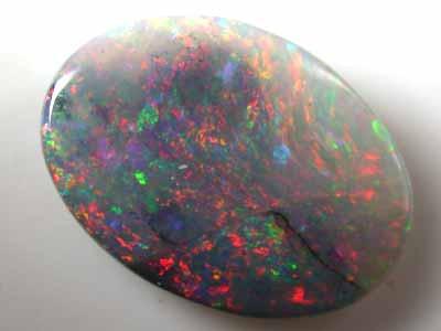 0.95 Cts    Australian  Black Opal L1959