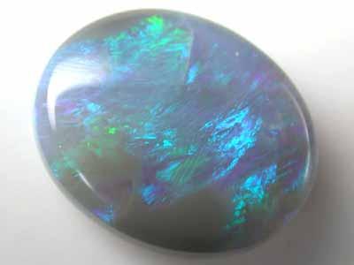 2.75 Cts    Australian  semi Black Opal L1997