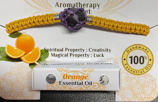 Aromatherapy Bracelet, Orange  code BRAROMA