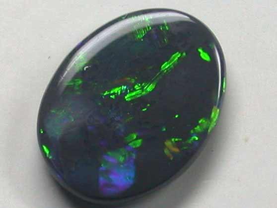 1.6 Cts    Australian  Black Opal L2875