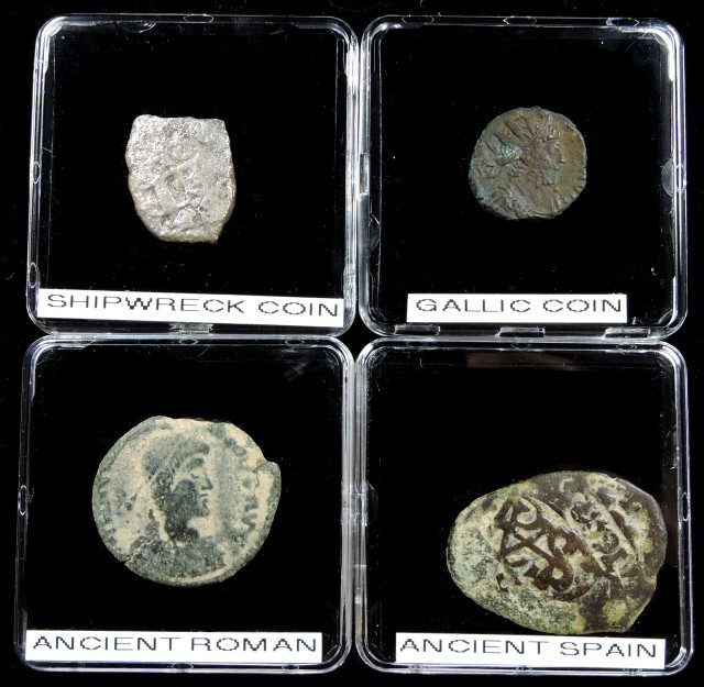 SHIPWRECK & ANCIENT COIN TREASURES 17-150 (SAT)