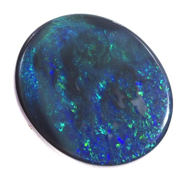 3.85 Cts    Australian  Black Opal  SS1507
