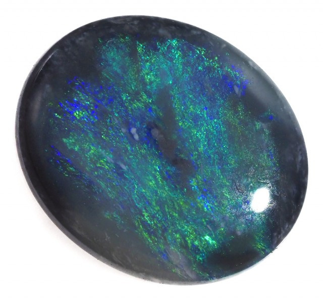 1.55 Cts    Australian  Black Opal  SS1504