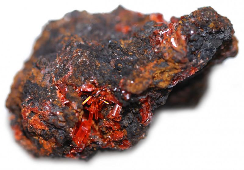 315 Cts Nice Crocolite Specimen Bu 2615
