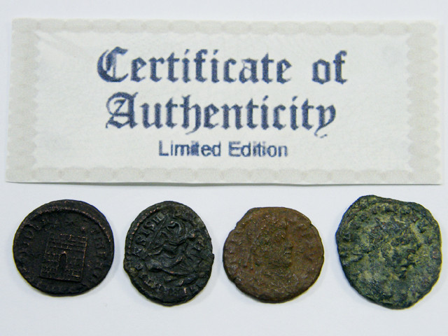 TREASURE SERIES OF ANCIENT ROMAN COINS 1-500 (ARC)