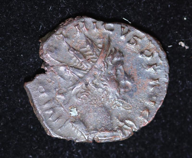 Ancient Roman Gallic Antonioni   coin  CP 625