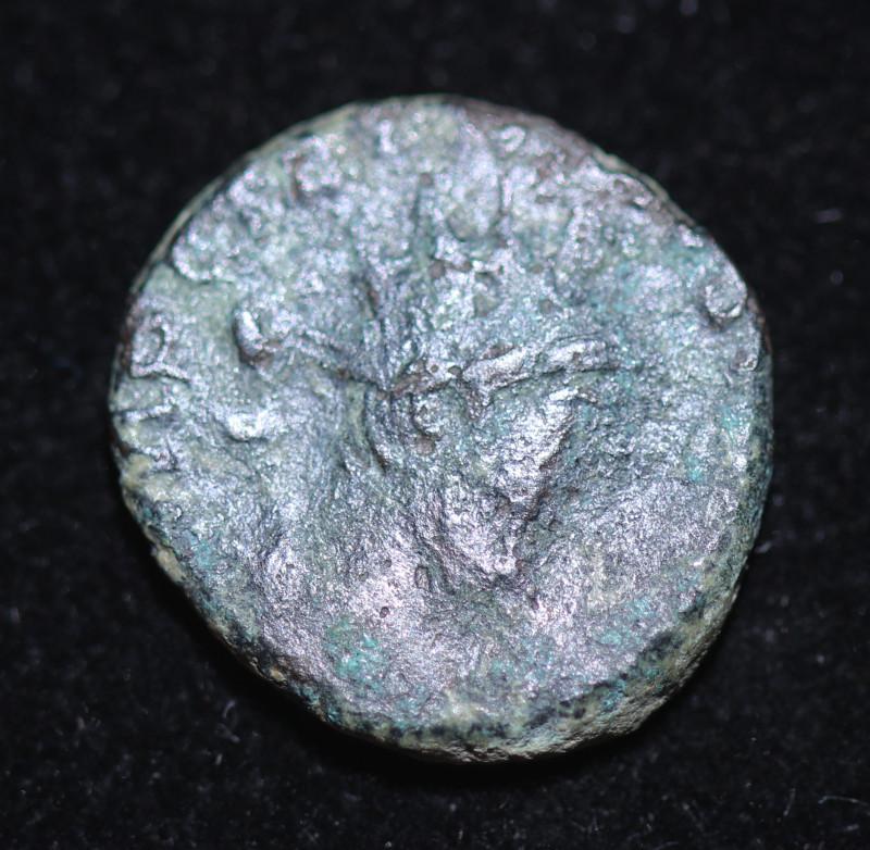 Ancient Roman Gallic Antonioni   coin  CP 638